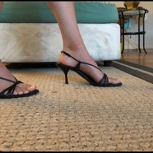 Gucci Shoes - Black strapped heels